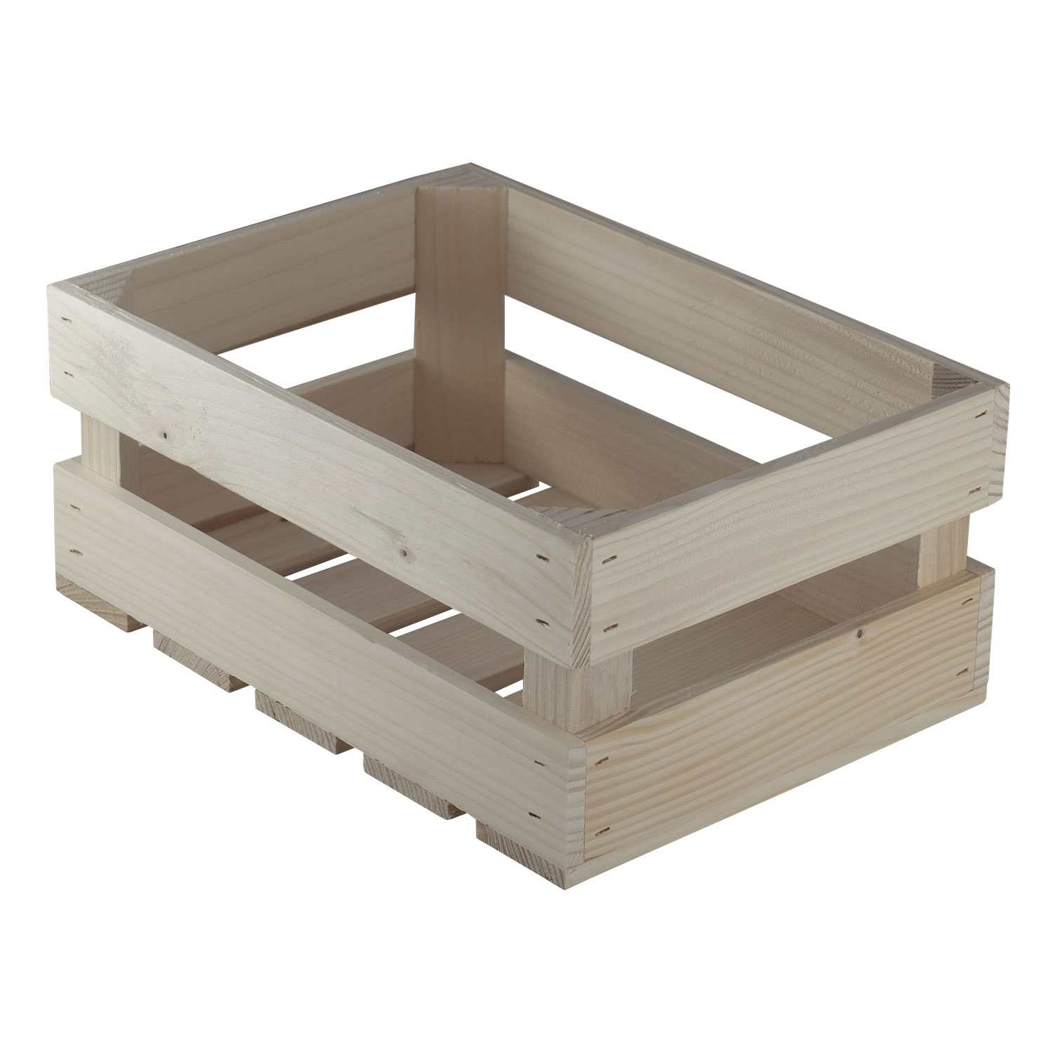 Wooden box for vegetables S005