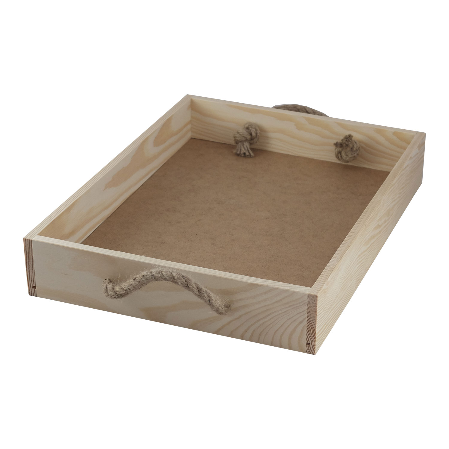 Wooden tray from the box  TA018